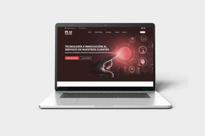 We launch a website